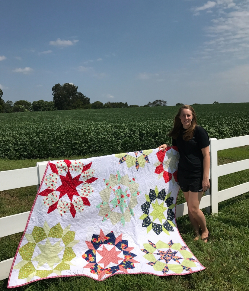 Me with the swoon quilt